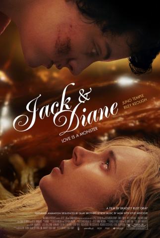 плакат фильма постер Джек и Диана*