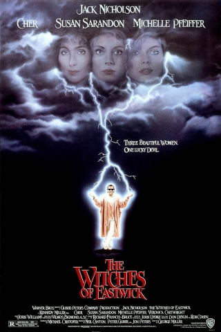 плакат фильма постер Иствикские ведьмы