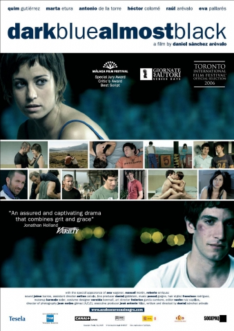 плакат фильма постер Темно-синий, почти черный