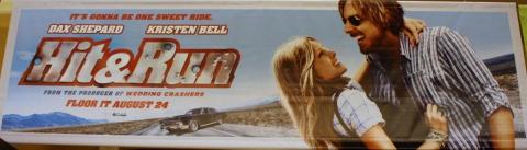 плакат фильма сейлс-арт баннер Хватай и беги