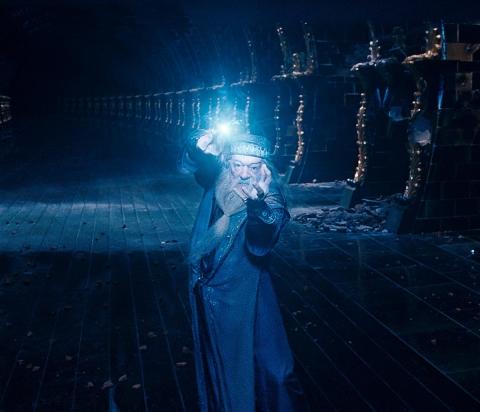 кадры из фильма Гарри Поттер и Орден Феникса Майкл Гэмбон,