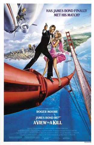 плакат фильма постер Вид на убийство