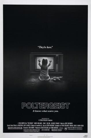 плакат фильма Полтергейст