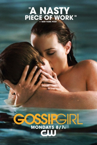 плакат фильма Сплетница