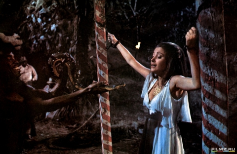 кадры из фильма Живи и дай умереть Джеффри Холдер, Джейн Сеймур,