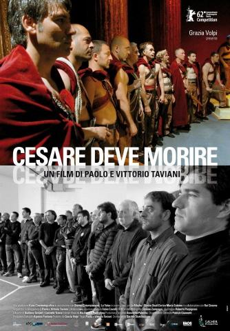плакат фильма постер Цезарь должен умереть