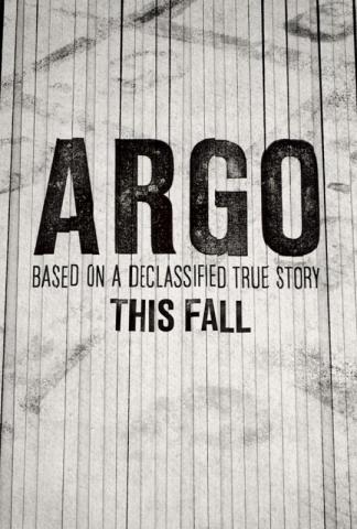 плакат фильма тизер Операция «Арго»