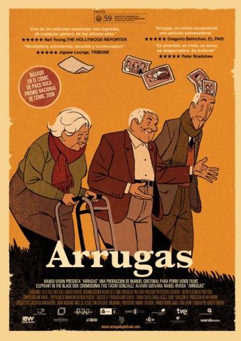 плакат фильма постер Морщинки