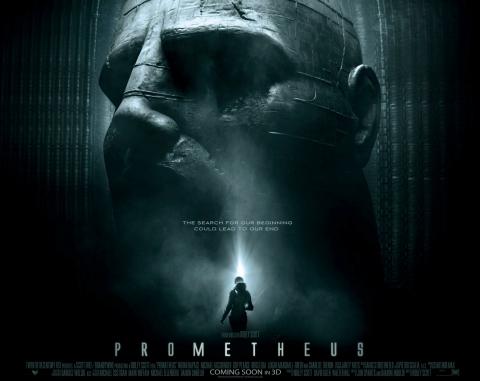 плакат фильма биллборды Прометей