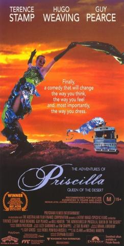 плакат фильма Приключения Присциллы, королевы пустыни