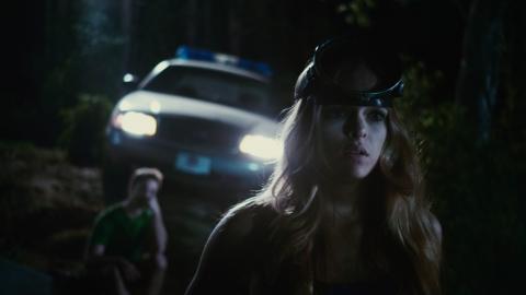 кадры из фильма Пираньи 3DD Даниэлла Панабэйкер,