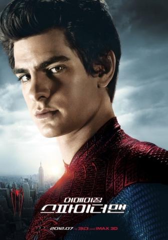 плакат фильма характер-постер Новый Человек-паук