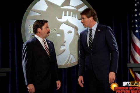 кадры из фильма Грязная кампания за честные выборы Зак Галифианакис, Уилл Феррелл,