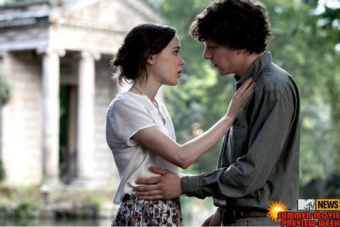 кадры из фильма Римские приключения Эллен Пэйдж, Джесси Айзенберг,