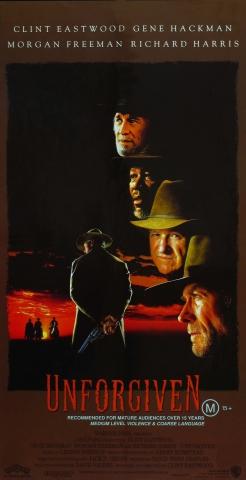плакат фильма Непрощенный