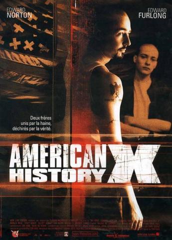 плакат фильма Американская история Х