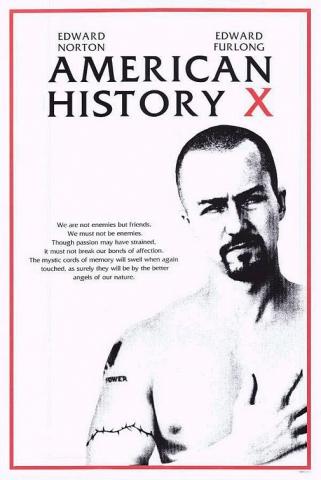 плакат фильма тизер Американская история Х