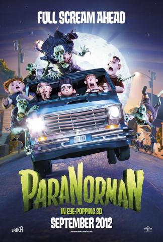 плакат фильма постер ПараНорман, или Как приручить зомби