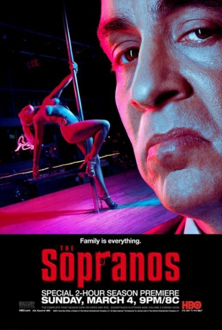 плакат фильма характер-постер Клан Сопрано