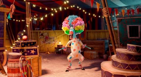 кадры из фильма Мадагаскар 3 в 3D Крис Рок,