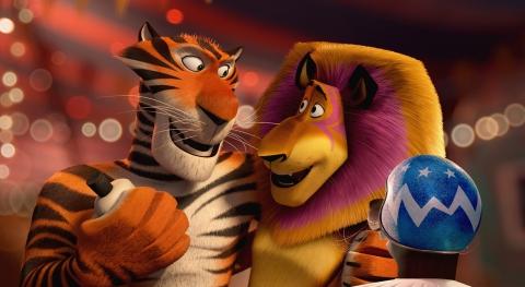кадры из фильма Мадагаскар 3 в 3D Брайан Крэнстон, Бен Стиллер, Мартин Шорт,