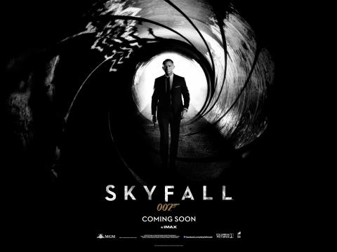 плакат фильма тизер биллборды 007 Координаты Скайфолл