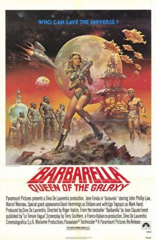 плакат фильма Барбарелла