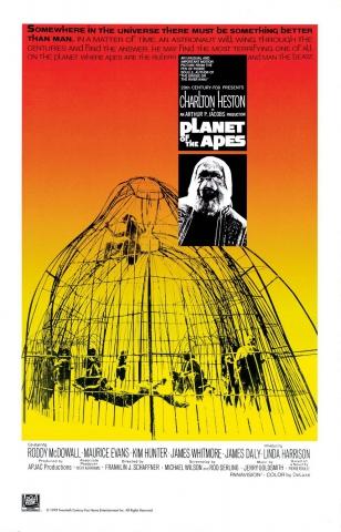 плакат фильма Планета обезьян