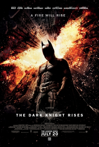 плакат фильма постер Темный рыцарь: Возрождение легенды