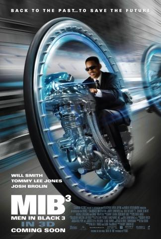 плакат фильма постер Люди в черном 3