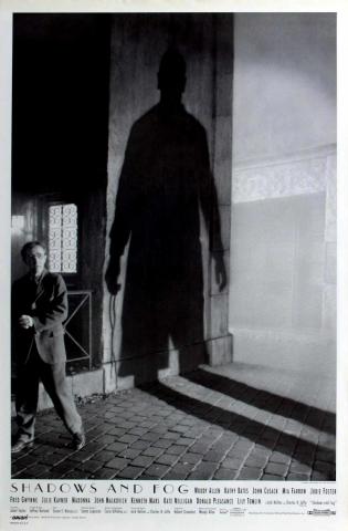 плакат фильма постер Тени и туман