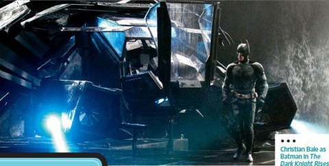 кадры из фильма Темный рыцарь: Возрождение легенды Кристиан Бэйл,