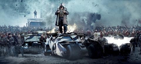 плакат фильма баннер textless Темный рыцарь: Возрождение легенды