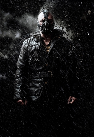 плакат фильма характер-постер textless Темный рыцарь: Возрождение легенды
