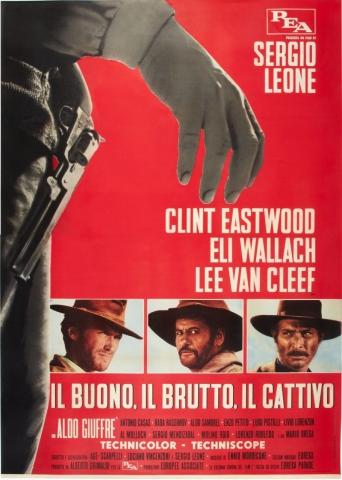 плакат фильма постер Хороший, плохой, злой