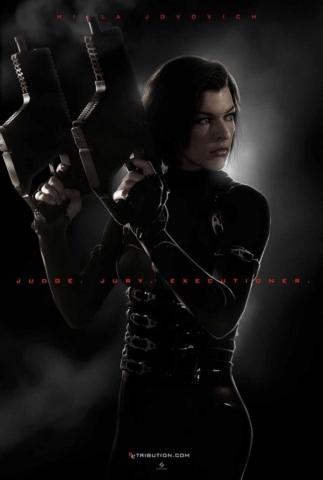 плакат фильма постер Обитель зла: Возмездие