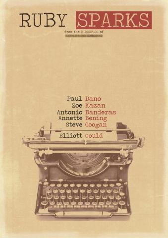 плакат фильма тизер Руби Спаркс