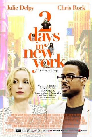 плакат фильма постер 2 дня в Нью-Йорке