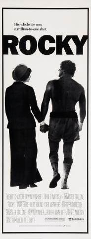 плакат фильма баннер Рокки