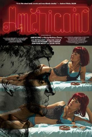 плакат фильма постер Американец*