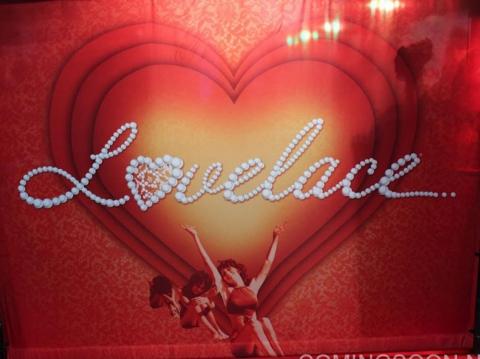 плакат фильма биллборды сейлс-арт Лавлейс
