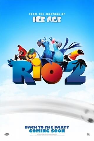 плакат фильма тизер Рио 2