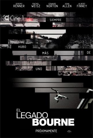 плакат фильма постер Эволюция Борна
