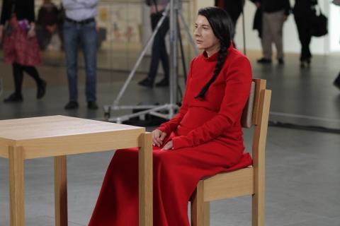 кадры из фильма Марина Абрамович: В присутствии художника Марина Абрамович,