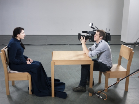 кадр №123755 из фильма Марина Абрамович: В присутствии художника