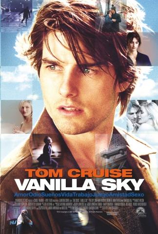 плакат фильма постер Ванильное небо