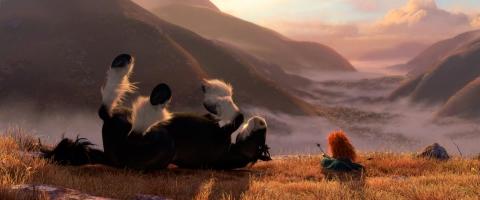 кадры из фильма Храбрая сердцем