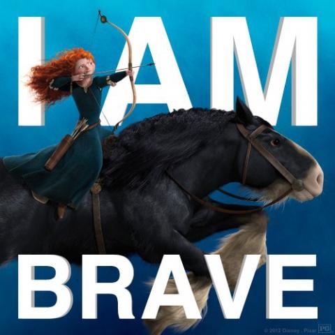 промо-слайды Храбрая сердцем