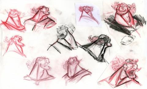 концепт-арты Храбрая сердцем