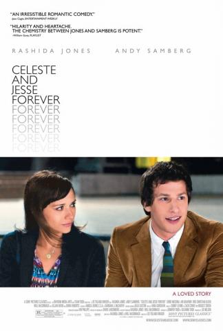 плакат фильма постер Селеста и Джесси навеки